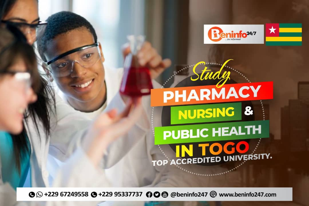 study pharmacy, nursing and public health in togo university