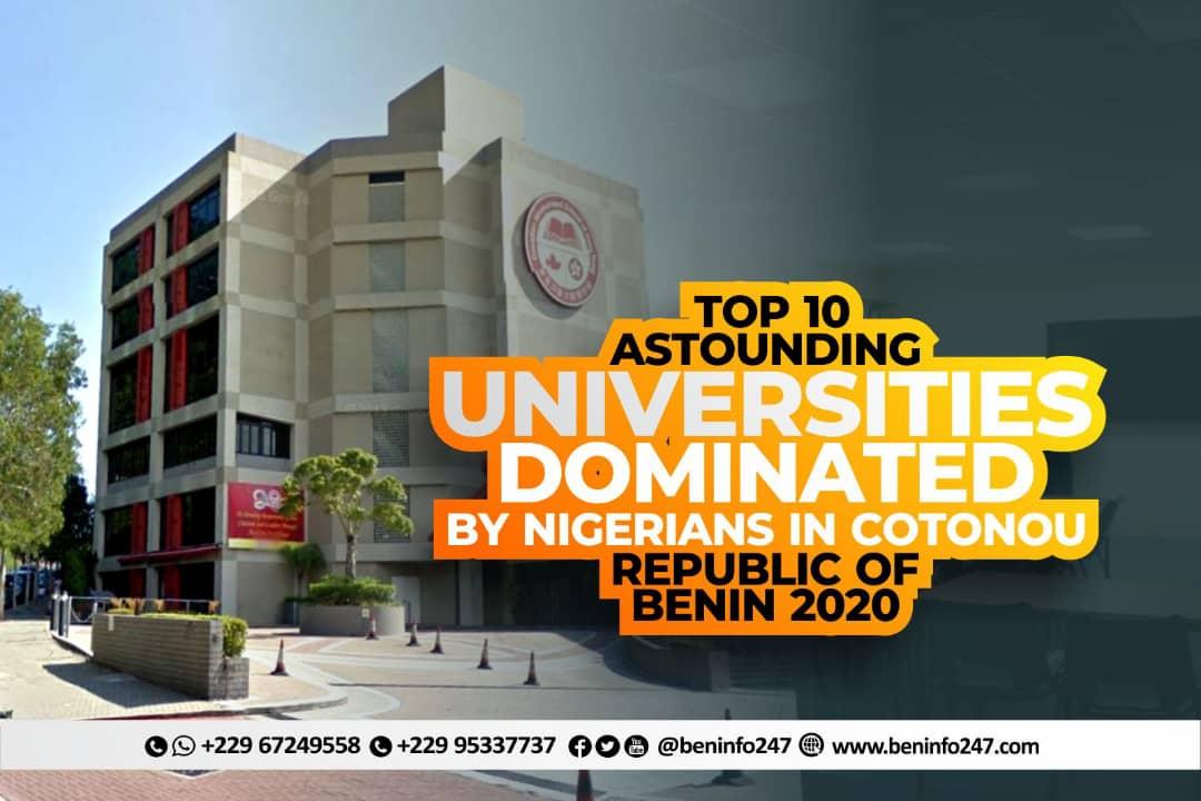 top ten astounding universities with nigerians