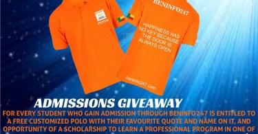 free polo shirt