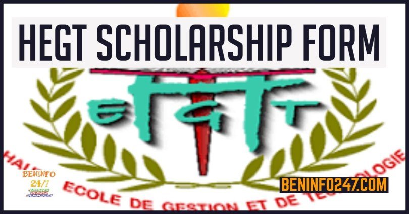 HEGT Scholarship form