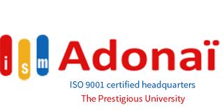ISM ADONAI CALAVI UNIVERSITY APPLICATION FORM