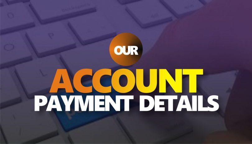 payment details