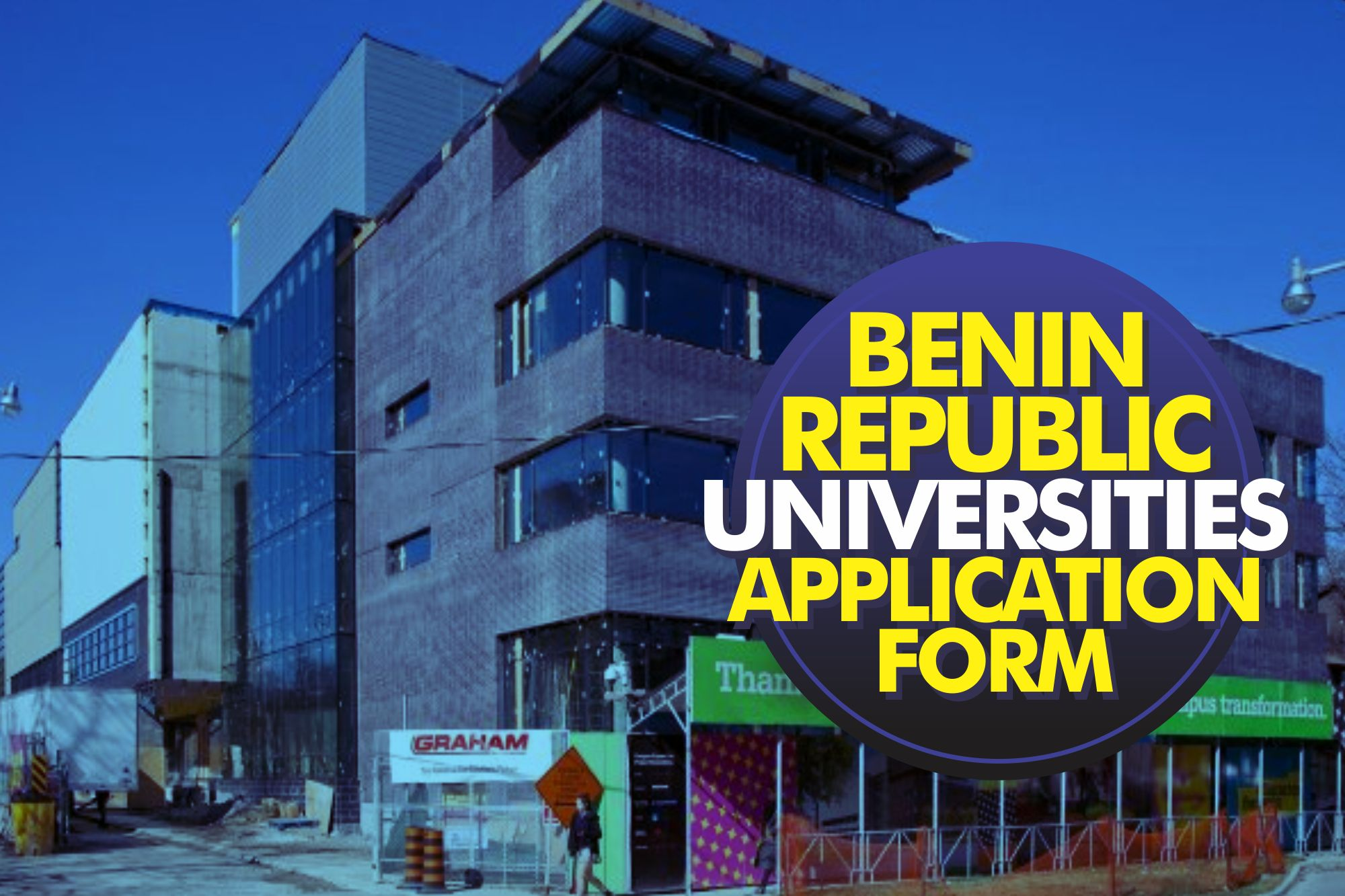 2019 Benin Republic Universities Application Form