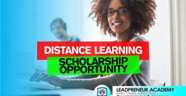 leadpreneur academy distance learning scholarship