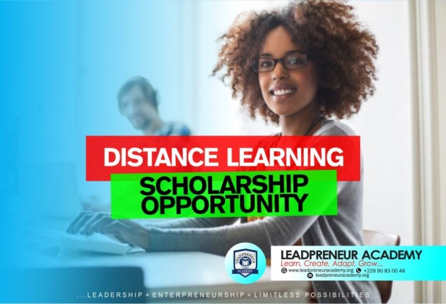 Distance Learning Scholarship Opportunity