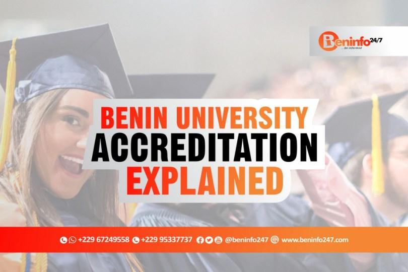 BENIN REPUBLIC UNIVERSITY ACCREDITATION EXPLAINED