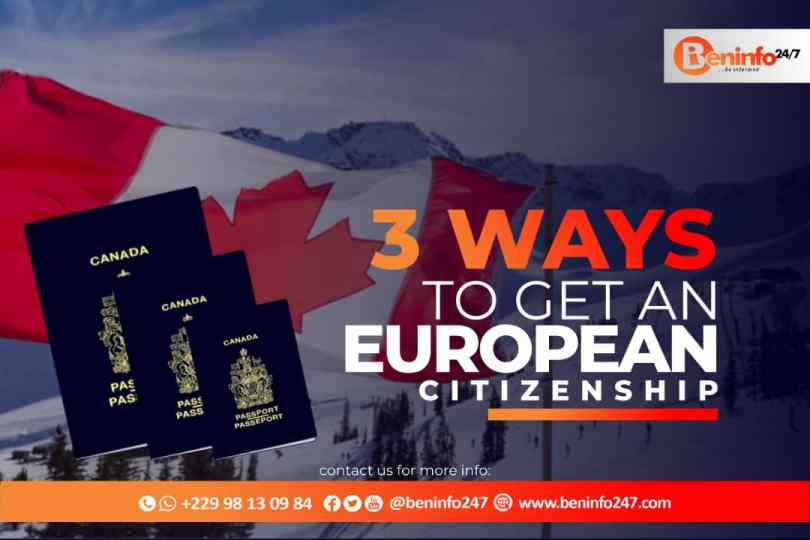 3 sure ways to get European Citizenship