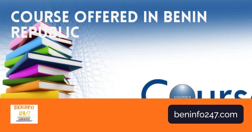 Courses offered in Benin Republic