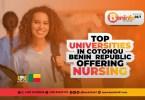 universities in cotonou benin republic offering nursing