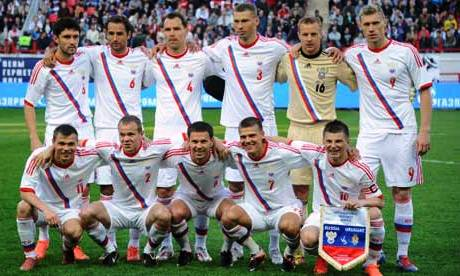 Equipe Russie Euro 2012