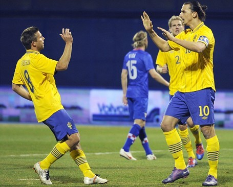 Equipe Suede Euro 2012