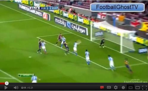 Voici la vidéo résumé des buts du FC Barcelone (5)- Real Sociedad(1)