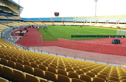 Le stade de Rustenburg : Stade Royal Bafokeng