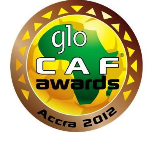 glo caf award,ballon d'Or 2012