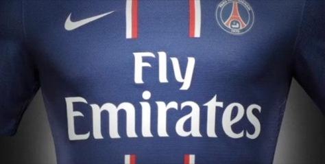 Le nouveau maillot du PSG 2012-2013