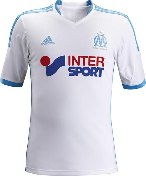 maillot domicile 2013-2014 marseille