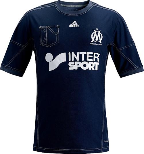 Le maillot en jean extérieur (away) 2013 - 2014