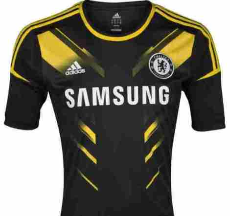 maillot third chelsea 2012-2013