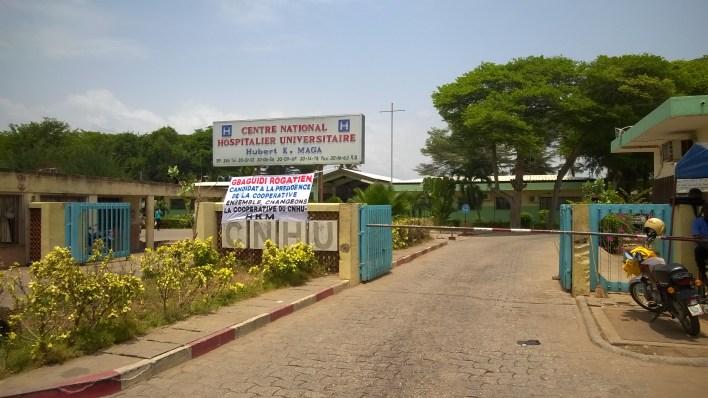 Une vue du Centre hospitalier universitaire Hubert K. Maga (Cnhu-Hkm). / Photo : Parcours Plus Santé