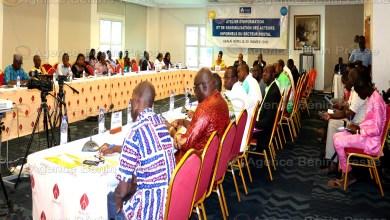 Les acteurs informels du secteur postal sensibilisés par l'ARCEP-Bénin / Photo : Agence Bénin Presse