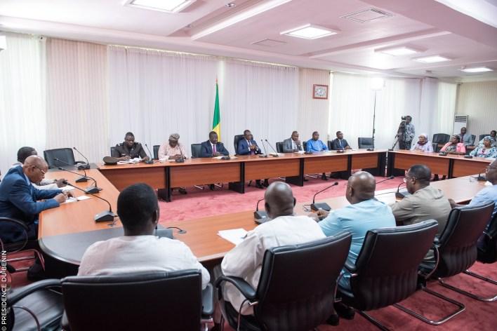 Patrice Talon: Rencontre avec les pharmaciens | Photo : Présidence de la République du Bénin