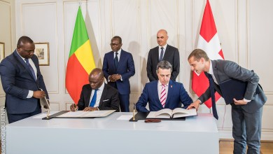 Photo of Le Bénin et la Suisse signent deux accords d'environ 47 milliards de F.Cfa
