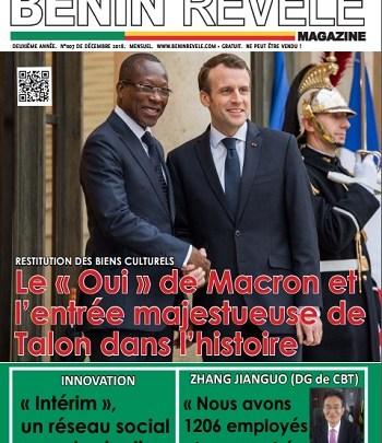 Photo of Bénin Révélé Mag N°007 – Décembre 2018