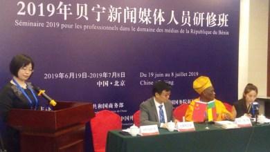 20 journalistes béninois à Beijing pour promouvoir la coopération entre les médias chinois et béninois et pour mieux connaître la Chine