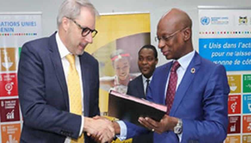 Mtn Bénin et les Nations-unies signent une lettre d'entente pour la concrétisation des ODD