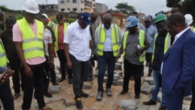 Photo of José Tonato évolue le projet d'asphaltage des rues à Porto-Novo et Sèmè-Podji