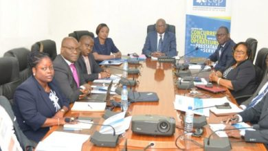 Les-membres-du-Conseil-de-Regulation-et-Secrétaire-Exécutif-ARCEP-BENIN-