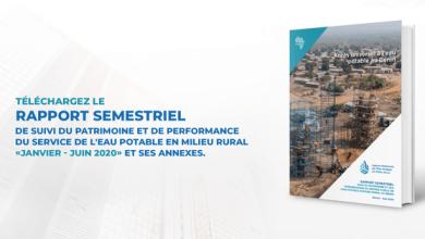 Photo of Rapport semestriel de suivi du patrimoine et de performance du service de l'eau potable en milieu rural : janvier – juin 2020