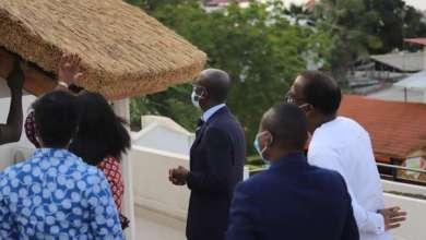 Photo of Mise en œuvre de la politique de soutien aux vocations et talents artistiques : Le Ministre ABIMBOLA en visite au siège de l'Agence Galerie Nationale