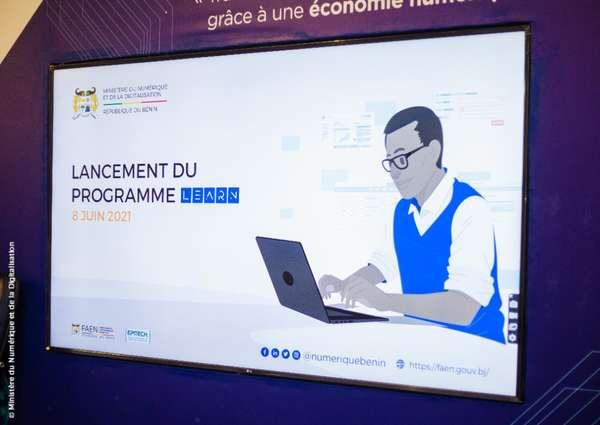 secteur-du-numerique-au-benin-:-le-gouvernement-lance-le-programme-learn