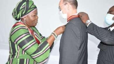Photo of Reconnaissance pour services rendus à la Nation béninoise : L'Ambassadeur Achim TRÖSTER fait Commandeur de l'ordre national du Bénin