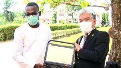 Photo of Secteur de la santé : Le Bénin reçoit un important lot d'équipements du Japon