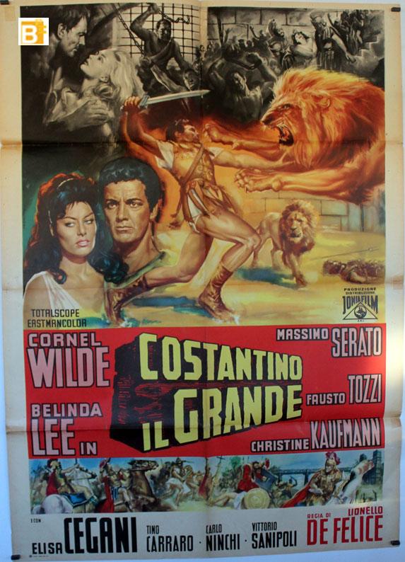 COSTANTINO IL GRANDE MOVIE POSTER CONSTANTINO IL GRANDE MOVIE POSTER