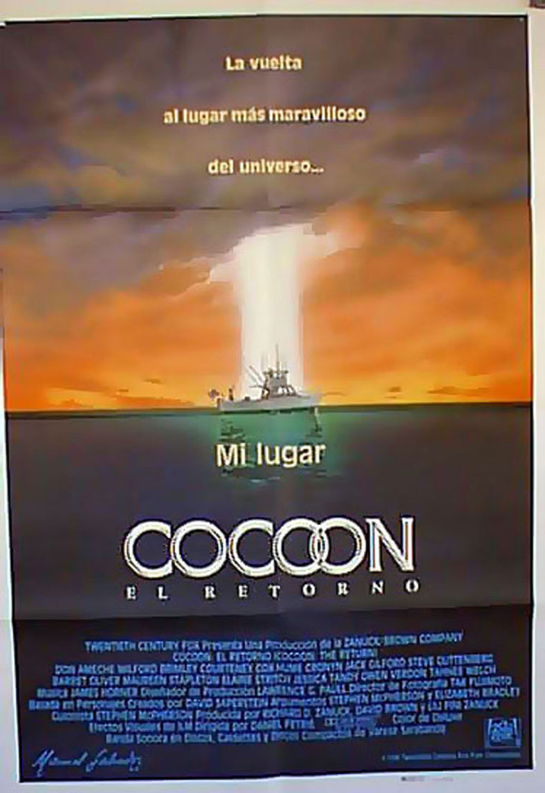 COCOON MOVIE POSTER COCOON MOVIE POSTER