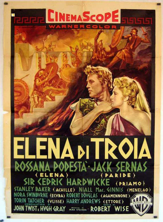 Risultati immagini per Elena di Troia 1955