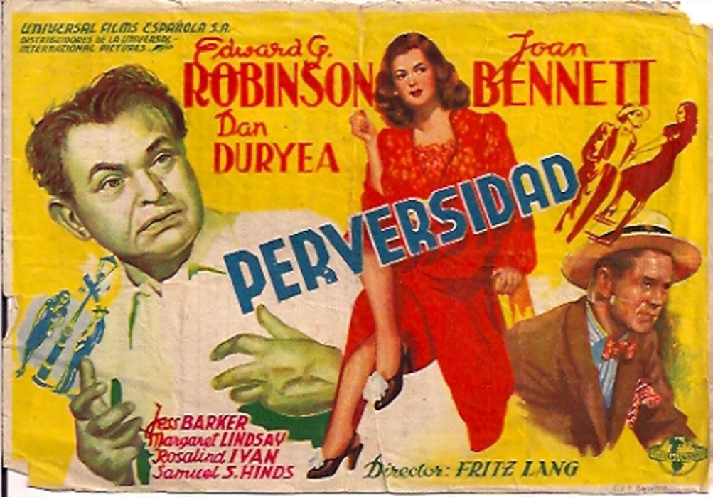Image result for scarlet street poster