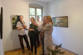 Eröffung der Ausstellung »Neues von Kerwin«, Galrie Kunst-Kontor, Potsdam