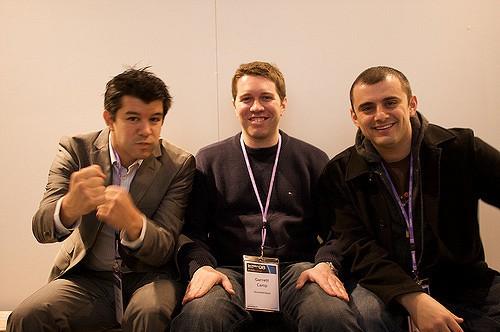 futur du travail, Travis Kalanick, Garrett Camp et Gary Vaynerchuck