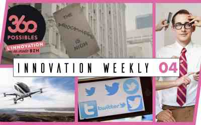 Innovation Weekly 04  – Appocalypse, Crypto-monnaie et Twitter