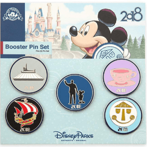 2018_Disney_Parks_Pin_Trading_Booster_Set