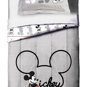 Disney Mickey Mouse Jersey Reversible Twin