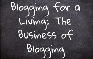 Blogging for a Living