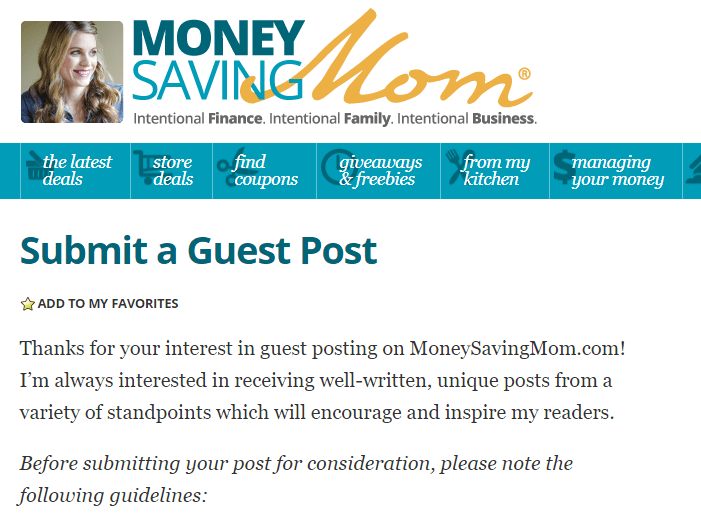 Money Saving Mom Writing Articles Get Paid