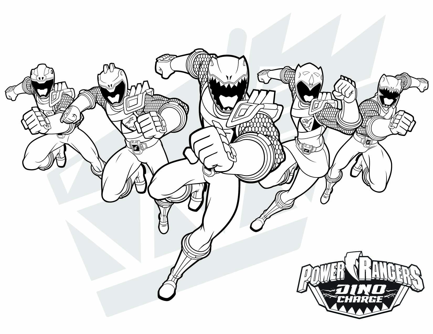 14 Beau De Coloriage Power Rangers Dino Charge Photos