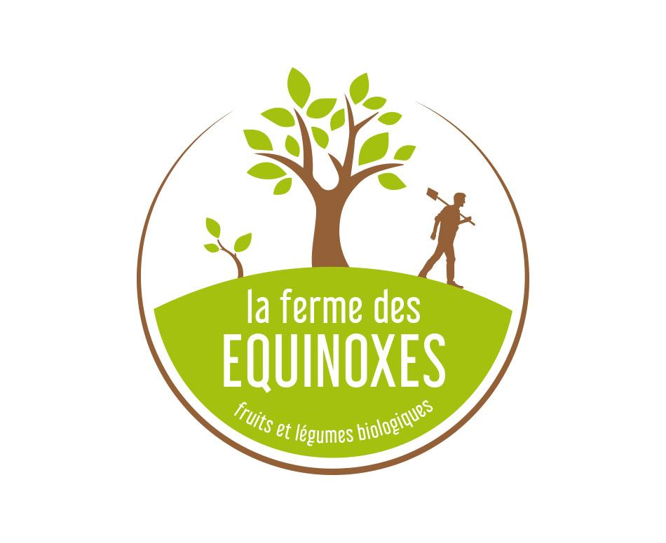 Logo Ferme des Équinoxes   Benjamin PIEGAY, graphiste à Lyon et dans les Monts du Lyonnais