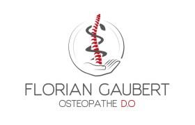 Logo pour FLorian Gaubert ostéopathe   Benjamin PIEGAY, graphiste à Lyon et dans les Monts du Lyonnais